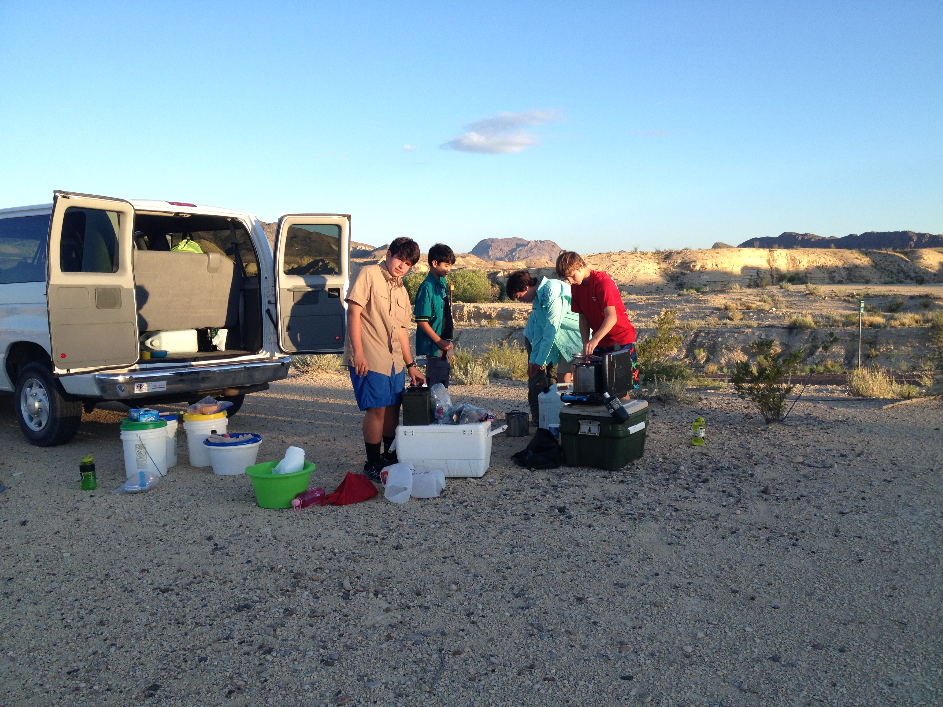T55 Scouts at Terlingua